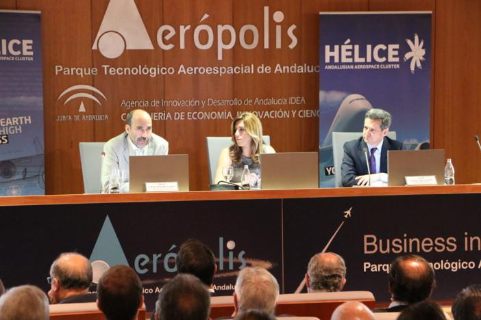 La industria aeroespacial andaluza crea más de 1.000 empleos en 2014