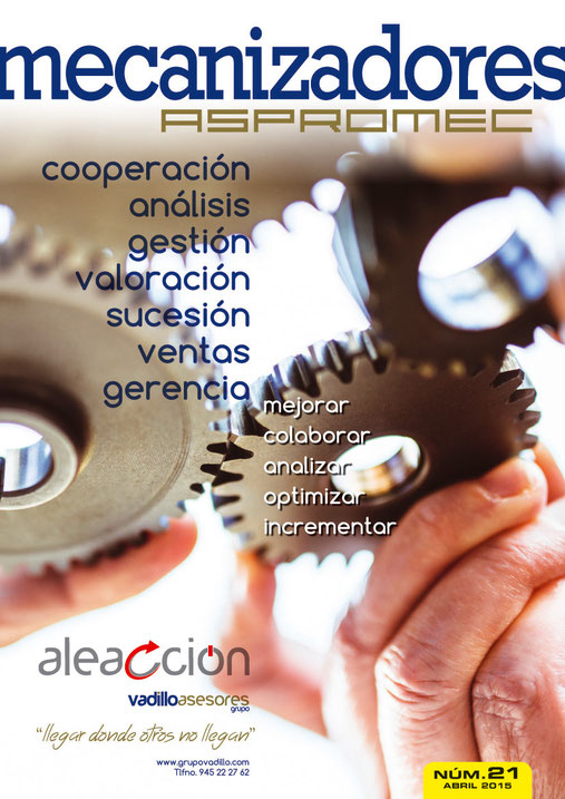 Revista Mecanizadores Aspromec nº 21