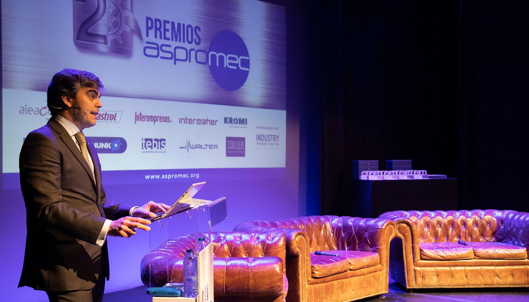Francisco Moreno Gil, presidente de Aspromec y director general de Tebis Sur de Europa.